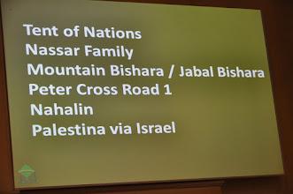 Photo: Stuur post naar dit adres! - zeer onzeker of die aankomt, maar ook nuttig voor de Israëlische autoriteiten . . .