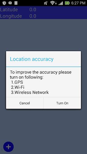 My Location Co-ordinate