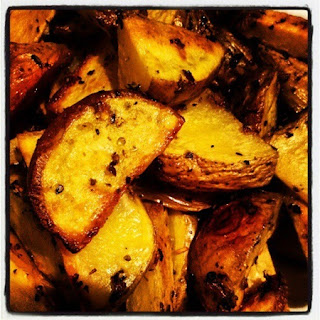 Parm Roasted Taters