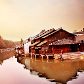 Water village. by Jeff T - Landscapes Waterscapes ( facebook )