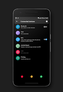 Vibrance Substratum Theme (Oreo supported) Screenshot