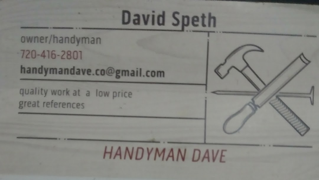 Handyman Dave co - Handyman in Denver