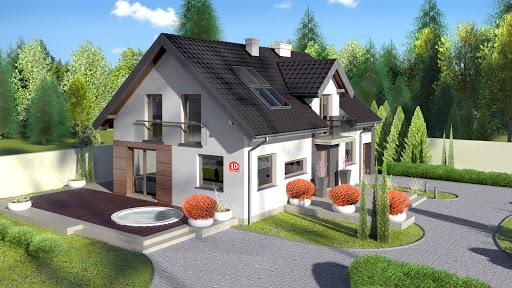 projekt Dom przy Alabastrowej 10