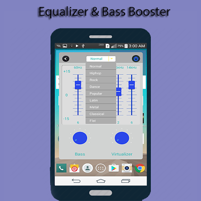 Equalizer & Bass_Booster - screenshot