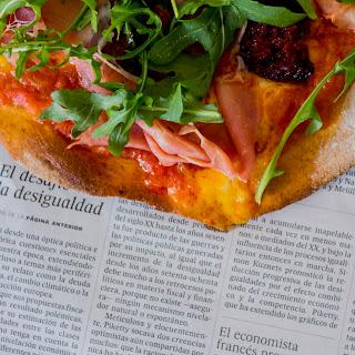 Chorizo and Serrano Ham Pizza Recipe