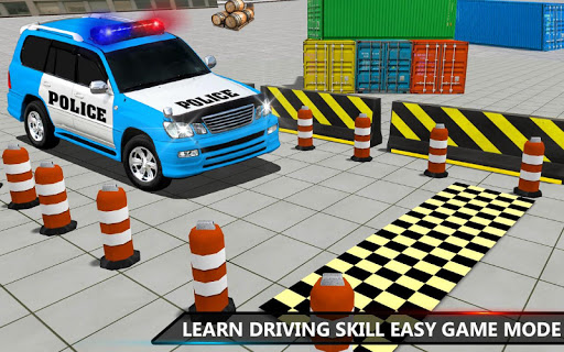 Police Jeep Spooky Stunt Parking 3D 2 apkpoly screenshots 5