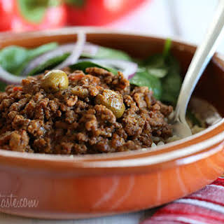 Crock Pot Picadillo.