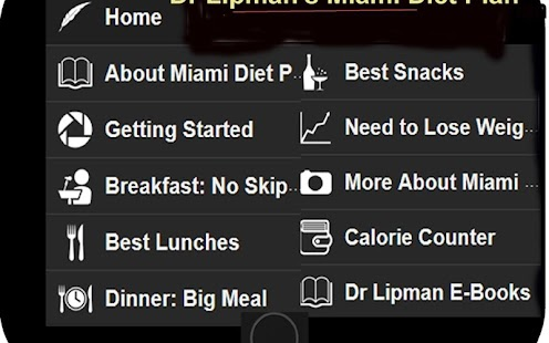 Miami Diet Plan- screenshot thumbnail
