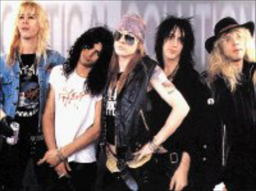 Guns 'n Roses. © Unknown.