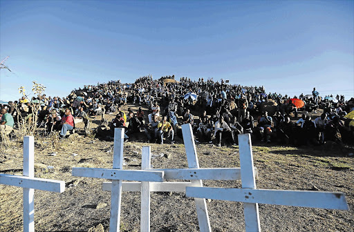 Victims of the Marikana shooting will not be gathering at the koppie as they mark eight years since the fateful day.