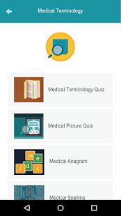Medical Terminology Quiz Game