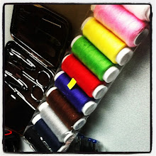 Photo: Colored sewing kit #intercer #color #colors #black #red #yellow #blue #pink #green #grey #craft #sewing #homemade #scissors #needle #romania - via Instagram, http://instagr.am/p/OFkb7tJft8/