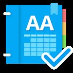 AA Calendar (+ Memo & Anniversary) Icon