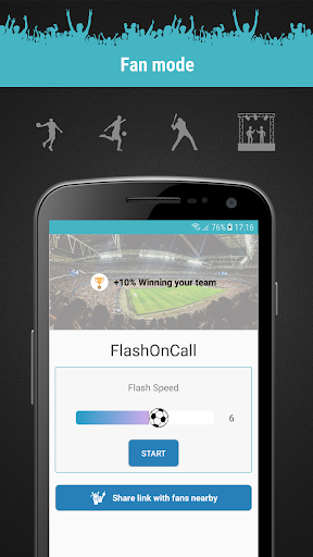 FlashOnCall (call and app) screenshot 5
