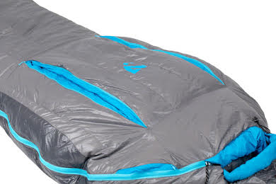 NEMO Kayu, 30, 800-fill DownTek Sleeping Bag, Carbon/Blue Flame, Regular alternate image 2