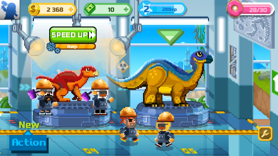 Dino Factory MOD 1.2.2 (Unlimited Money) APK 6