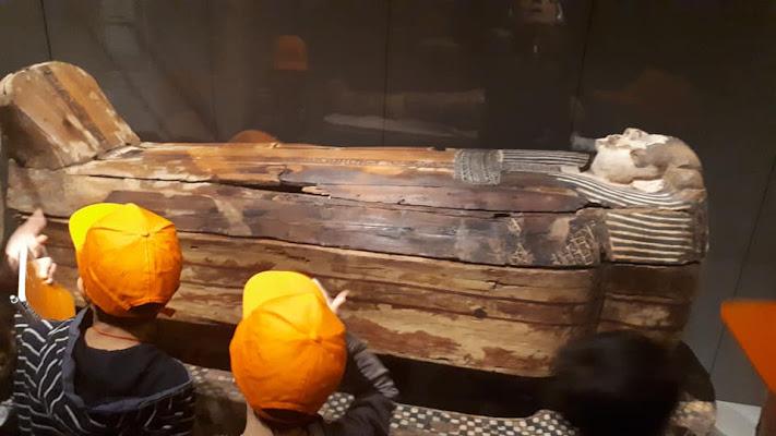 Al museo Egizio di Tiz