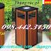 Thùng rác gỗ, thùng rác gỗ ngoài trời giá cực sốc call 0984423150 – Huyền