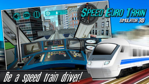 Speed Euro Train Simulator 3D