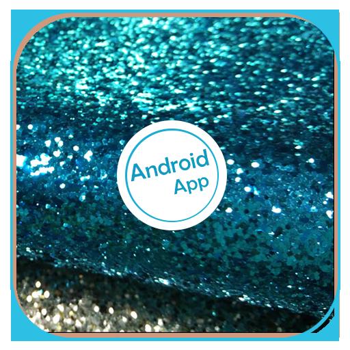 App Insights: Blue Glitter Wallpaper | Apptopia