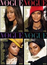"""Photo: Portada de la revista """"All Black"""" de Vogue Italia"""