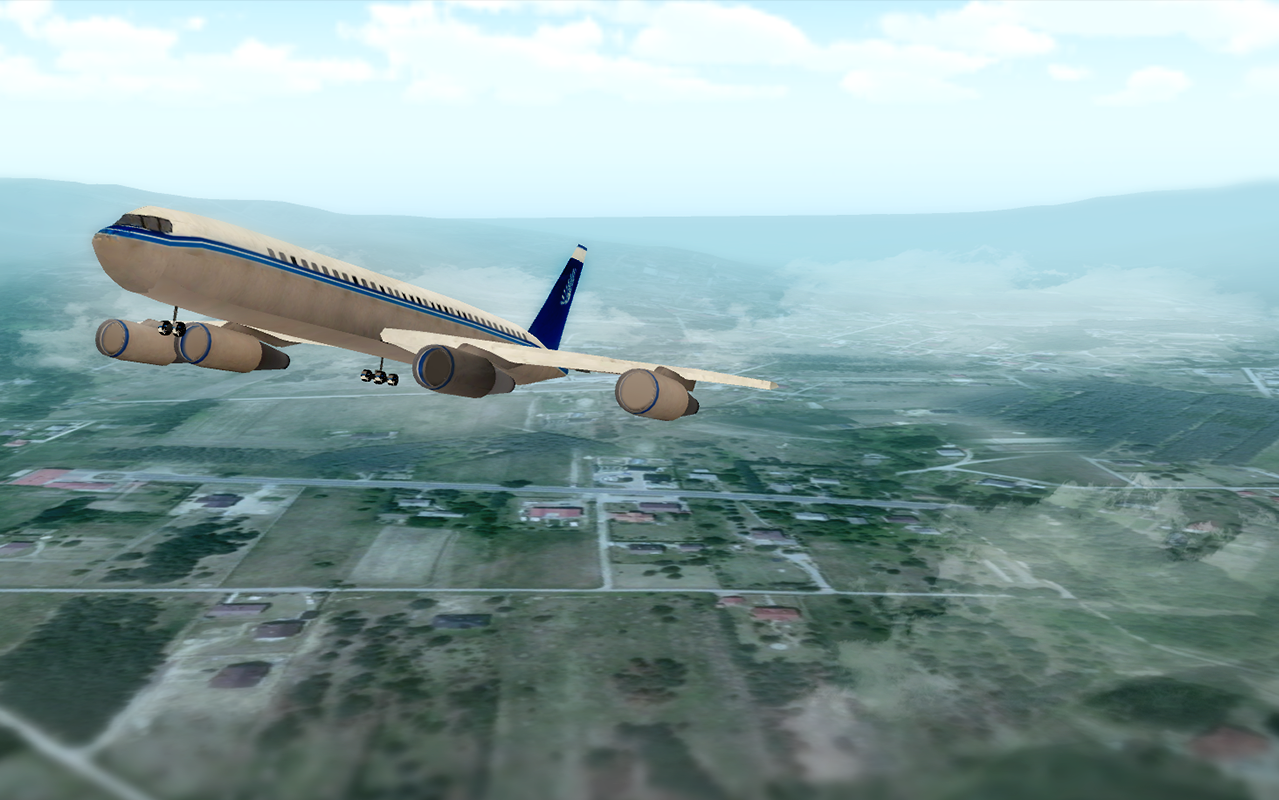 Airplane Flight Simulator- screenshot