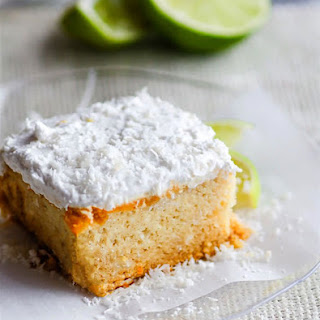 Gluten Free Lemon Lime Coconut Vegan Cake with Whipped Coconut Cream Frosting Recipe