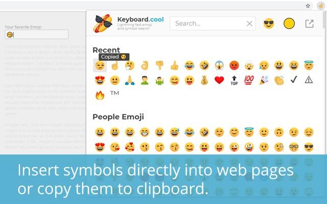 Keyboard.cool - emoji & symbol keyboard