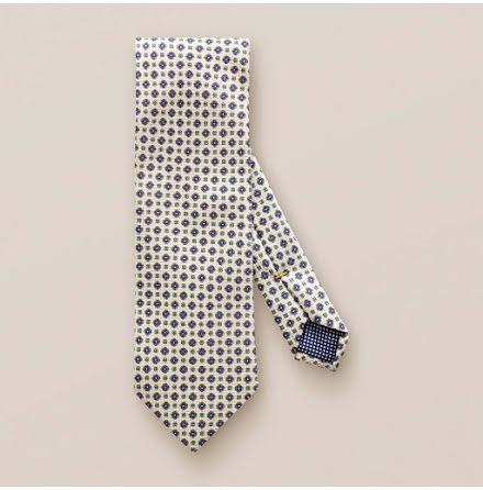 ETON Jazz beige geometric flower tie