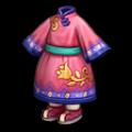ピンクのキョンキョンの服S