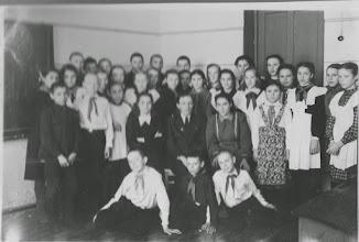 Photo: 7а класс 1952 год