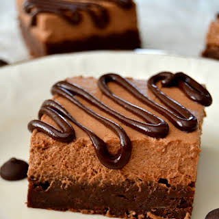 Chocolate Mousse Brownies.