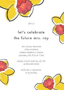 Jillian's Bridal Party - Bridal Shower Invitation item
