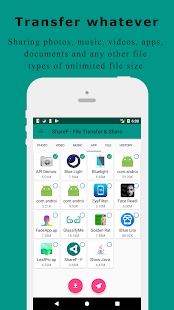 ShareF - File Transfer & Share - náhled