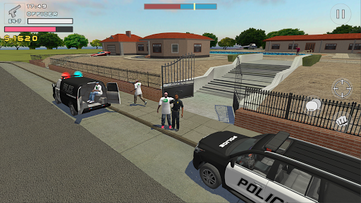 Police Cop Simulator. Gang War apkmr screenshots 4
