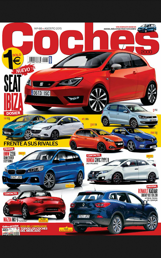 Coches Revista: captura de pantalla