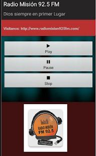 Radio Misión 92.5 FM Rosario - náhled