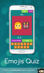 Emojis Quiz - náhled