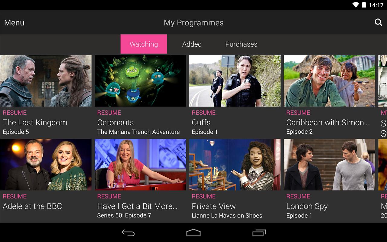 BBC iPlayer screenshot #19