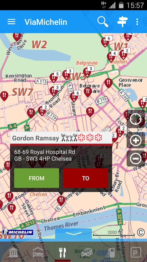 ViaMichelin: Route GPS Traffic- screenshot