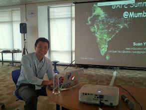 Photo: Suan Keynotes the India Summit