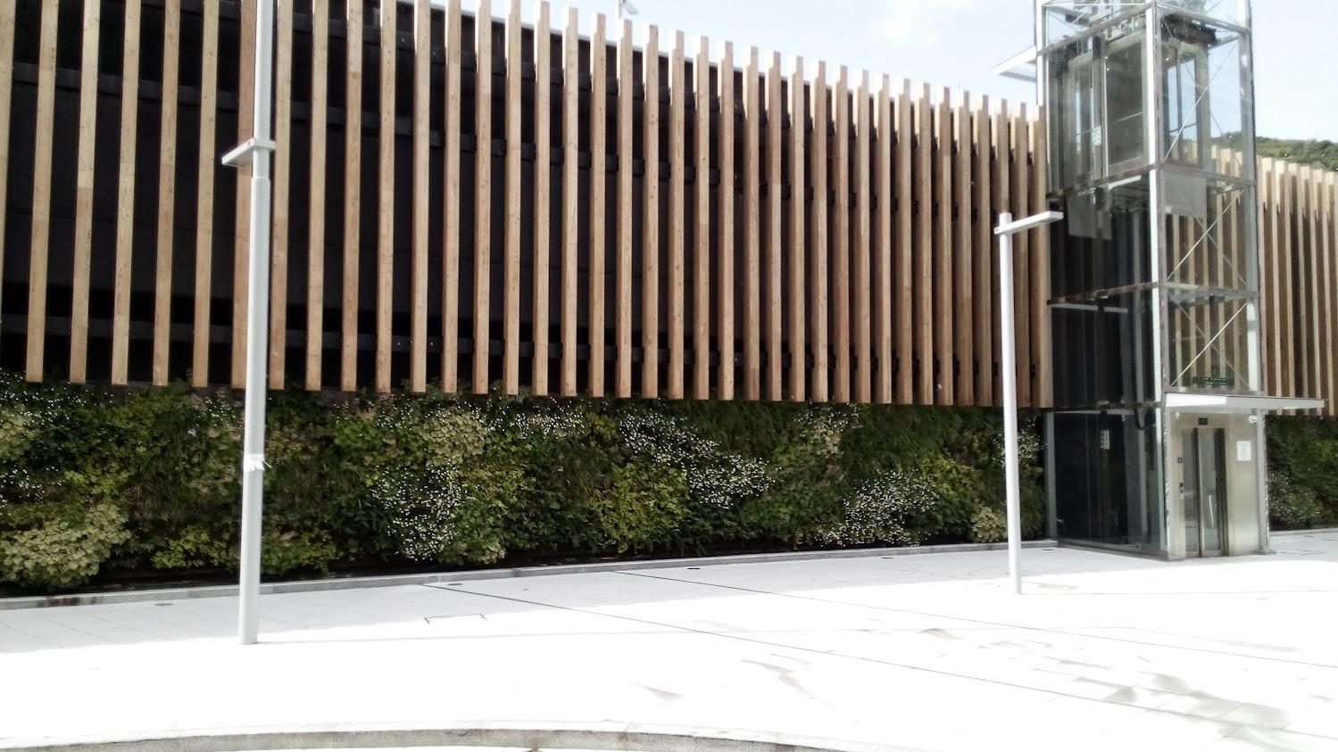 Jardin vertical Bilbao