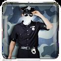 Bildbearbeitung Polizei Anzug icon