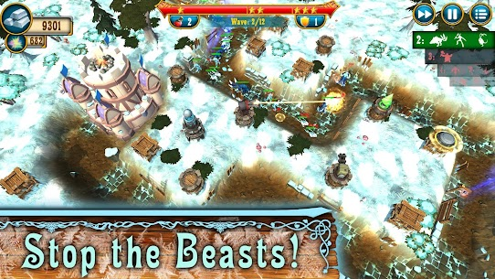 Fantasy Realm TD: Tower Defense Mod Apk (Unlimited Money) 2