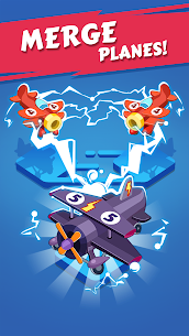 Merge Plane – Click & Idle Tycoon Mod 1.19.0 Apk [Unlimited Money] 1