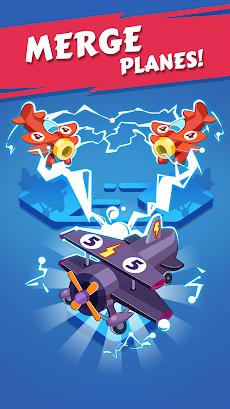 Merge Plane - Click & Idle Tycoonのおすすめ画像1