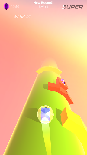 Warp and Roll - running flight action game 1.1.7 screenshots 18