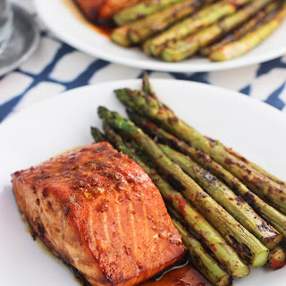 Sweet and Spicy Orange Salmon