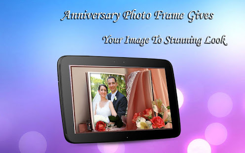 Hinged wedding anniversary engagement poetry and picture frame