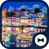 Beautiful Wallpaper Crete Scenery Theme